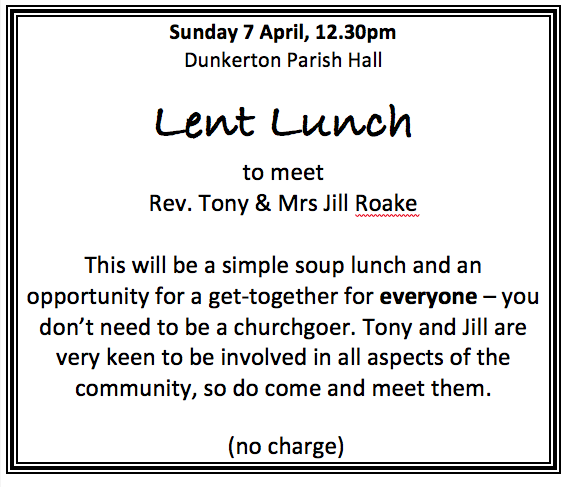 Lunch and meet